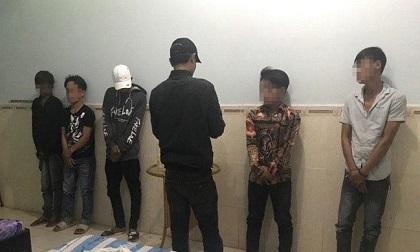5 thanh niên thuê nhà nghỉ để chơi ma túy