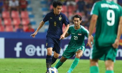 Loại Iraq, U23 Thái Lan giành vé vào tứ kết giải châu Á