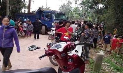 Sát Tết, nam sinh lớp 4 bị tử vong thương tâm dưới bánh xe tải