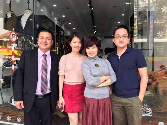 Nghệ sĩ Chí Trung từng có cuộc sống hạnh phúc bên Ngọc Huyền và hai con.