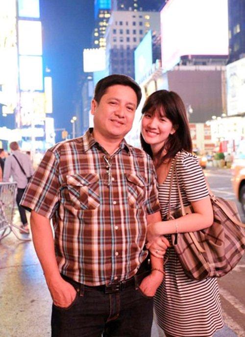 NS Chí Trung từng viết những lời tình cảm dành cho con gái trên mạng xã hội.