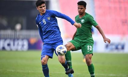 Ghi bàn phút cuối, U23 Saudi Arabia loại Uzbekistan giành vé dự Olympic 2020