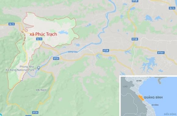 Lao taxi vao 11 nguoi di chuc Tet do buon ngu hinh anh 2 map_QuangBinh_taxi_1.jpg
