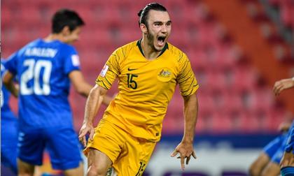 Phung phí cơ hội, U23 Uzbekistan mất vé Olympic vào tay Australia