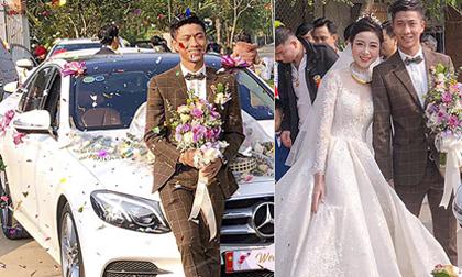 Chiếc Mercedes-Benz tiền đạo Phan Văn Đức dùng để rước dâu có gì đặc biệt?