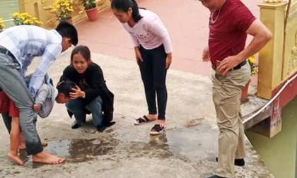 Thầy giáo Nghệ An dũng cảm lao xuống hồ cứu em nhỏ thoát khỏi đuối nước