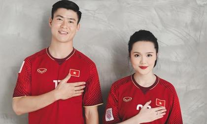 CĐM trầm trồ bộ ảnh cưới đậm chất bóng đá cực đặc biệt của Duy Mạnh và Quỳnh Anh