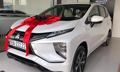 Trúng biển ngũ quý 2, chủ xe Mitsubishi Xpander tính lãi 700 triệu
