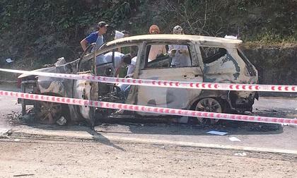 Danh tính cặp đôi tử vong trong chiếc xe bốc cháy trên đường Quảng Nam