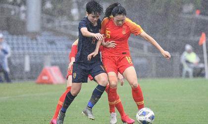 Thua đậm Trung Quốc, tuyển nữ Thái Lan dừng bước tại vòng loại Olympic