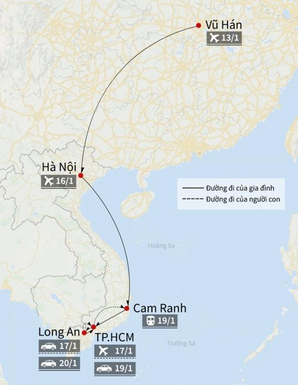 Nguoi dau tien duoc phat hien nhiem virus corona o Viet Nam khoi benh hinh anh 2 Map_corona_o_VN_3_.jpg