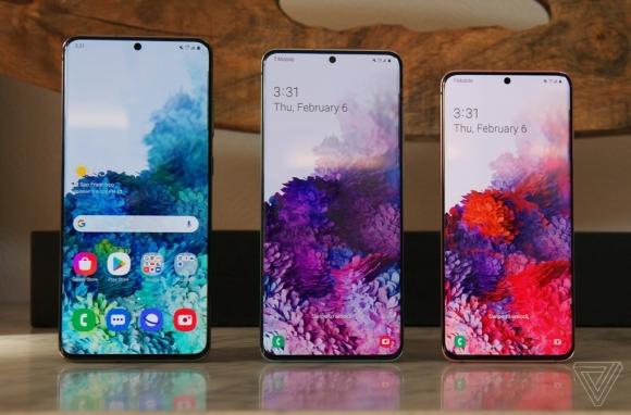 Samsung ra mat bo ba Galaxy S20 - camera zoom 100X, quay video 8K hinh anh 1 Screenshot_6.jpg