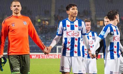 Văn Hậu hết cơ hội đá chính ở tứ kết cúp quốc gia Hà Lan