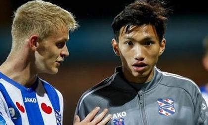 Heerenveen tan hoang hàng thủ, Văn Hậu vẫn không được vào sân dù chỉ 1 phút