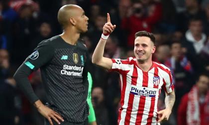 Liverpool thua 0-1 trước Atletico trên đất Tây Ban Nha
