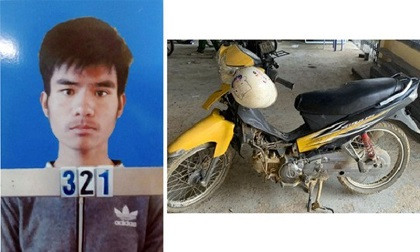 Bắt đối tượng gây ra hàng loạt vụ trộm xe máy