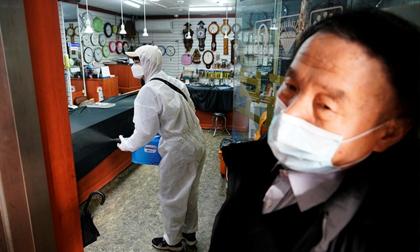 Hàn Quốc thêm 334 trường hợp nhiễm virus corona mới, tổng số 1.595 ca