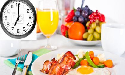 Khung giờ vàng để ăn sáng, trưa, tối mang lại lợi ích tuyệt vời cho sức khỏe