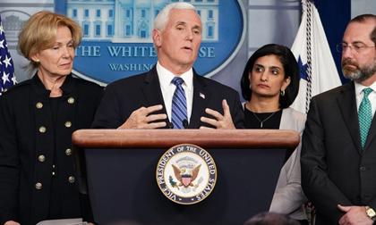 Mỹ thêm 4 ca tử vong, phó tổng thống vẫn tin nguy cơ dịch bệnh thấp