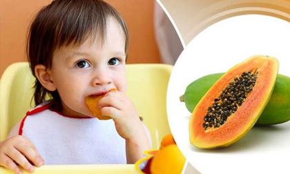 Cho trẻ ăn đu đủ: Đây là những lợi ích quý hơn vàng mà ít loại quả nào có thể thay thế