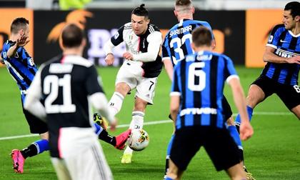 Ronaldo ghi dấu giúp Juventus đại thắng ở derby Italy
