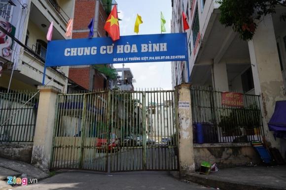 Phong toa chung cu Hoa Binh, noi benh nhan thu 48 sinh song hinh anh 1 BinhThuan_quynhdanh2_zing.jpg