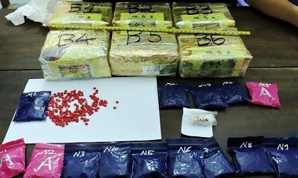 Bắt thanh niên giấu 6 kg ma túy trong cốp xe