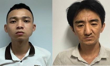 Cảnh sát mật phục bắt 2 gã buôn ma túy tàng trữ súng