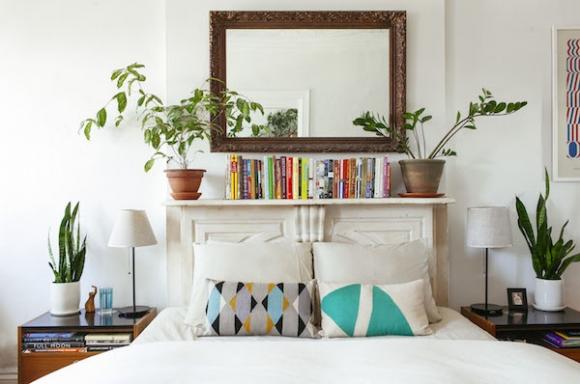 Không đặt cây xanh trong phòng ngủ