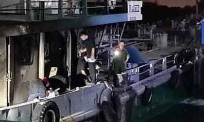 Vụ cháy tàu chở xăng trên sông Đồng Nai: Tìm thấy thi thể thứ 3