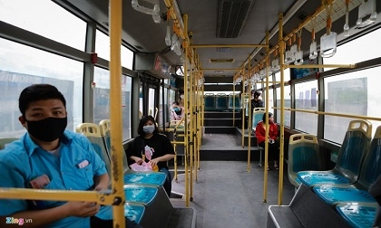 Đình chỉ nhiều tài xế, tiếp viên xe buýt vì không chấp hành chống dịch