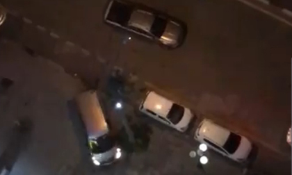 Điều tra vụ ẩu đả giữa hai nhóm đi ô tô ở Hà Đông, nghi có nổ súng