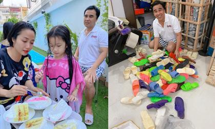 Ốc Thanh Vân sang chơi nhà Quyền Linh, 'khui' được bộ sưu tập cả trăm đôi dép tổ ong huyền thoại