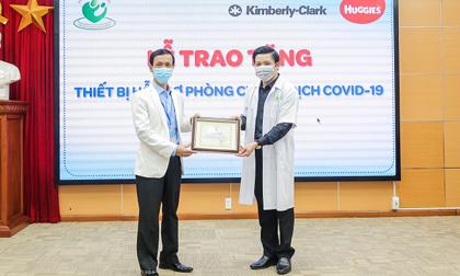 Kimberly-Clark Việt Nam cùng Huggies hỗ trợ công tác phòng chống dịch COVID-19