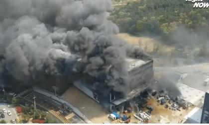 Công trường ở Hàn Quốc cháy lớn khiến ít nhất 36 người thiệt mạng
