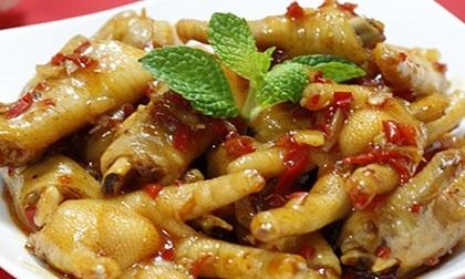 Cách làm chân gà sốt me chua ngọt đưa cơm