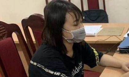 Nữ quái xứ Thanh trốn nã hối hận đầu thú ở Hà Nội