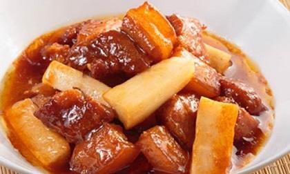 Món thịt kho củ cải thơm ngon đậm đà, cả nhà ăn hết nồi cơm