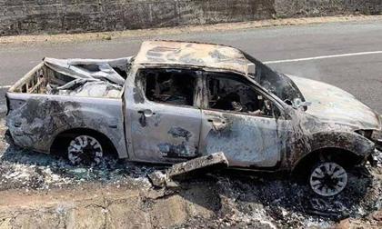 Bắt khẩn cấp bí thư xã liên quan vụ cháy ôtô khiến 1 người chết