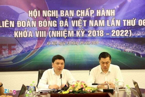 V.League chi con mot doi xuong hang, tro lai vao ngay 5/6 hinh anh 1 Le_Hoai_Anh_zing.jpg