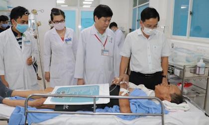 Sức khỏe các nạn nhân bị thương trong vụ sập công trình xây dựng ít nhất 10 người tử vong