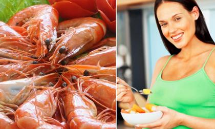Những loại hải sản mẹ bầu ăn thả ga không lo ảnh hưởng sức khỏe