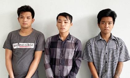 Bắt tạm giam 3 đối tượng cướp tài sản, hiếp dâm phụ nữ