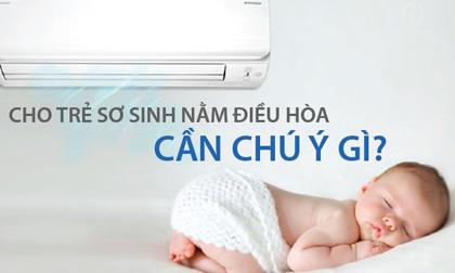 Mùa hè nắng nóng bật điều hòa cho trẻ sơ sinh bao nhiêu độ mới đúng?
