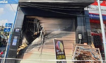 Một trong 7 người mắc kẹt tại đám cháy ở TP.HCM tử vong