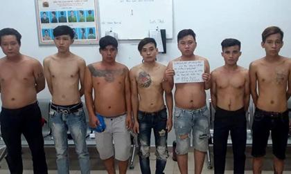 Cảnh sát chặn bắt 2 nhóm giang hồ hỗn chiến