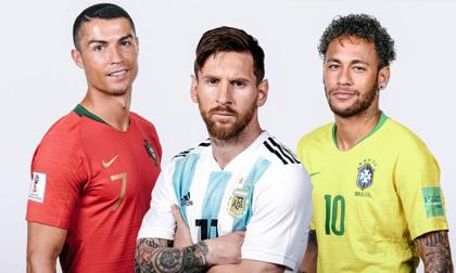 Messi, Ronaldo, Neymar hy sinh và đánh đổi