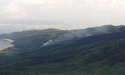 2 điểm cháy rừng bất thường trên đèo Hải Vân, nơi phạm nhân giết người vượt ngục đang lẩn trốn