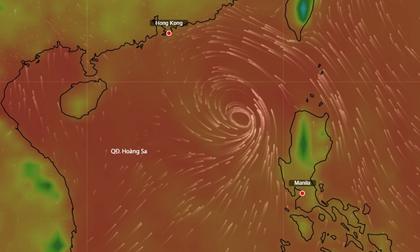 Biển Đông sắp có bão
