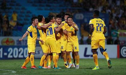 SLNA đánh bại Hà Nội FC: Nhà vô địch dần lộ diện?